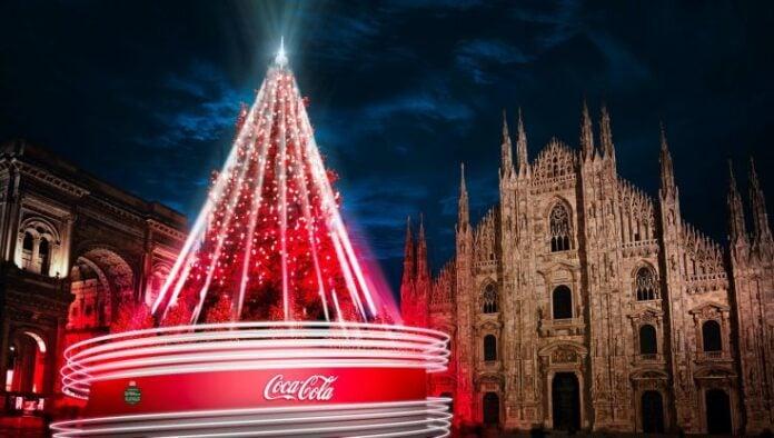 Albero Natale Coca Cola