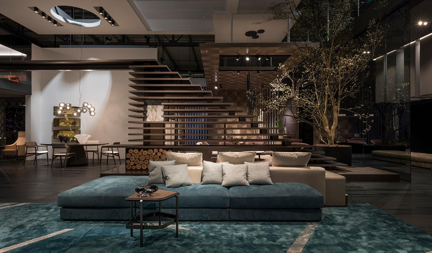 giorgetti foto interior design divano