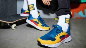 Tutti pazzi per le Sneakers Lidl