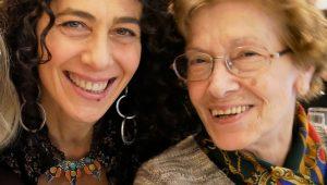 Moira perruso e madre. Foto Repubblica