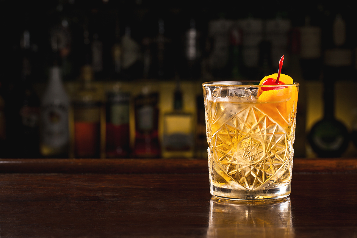 whisky sour cocktail