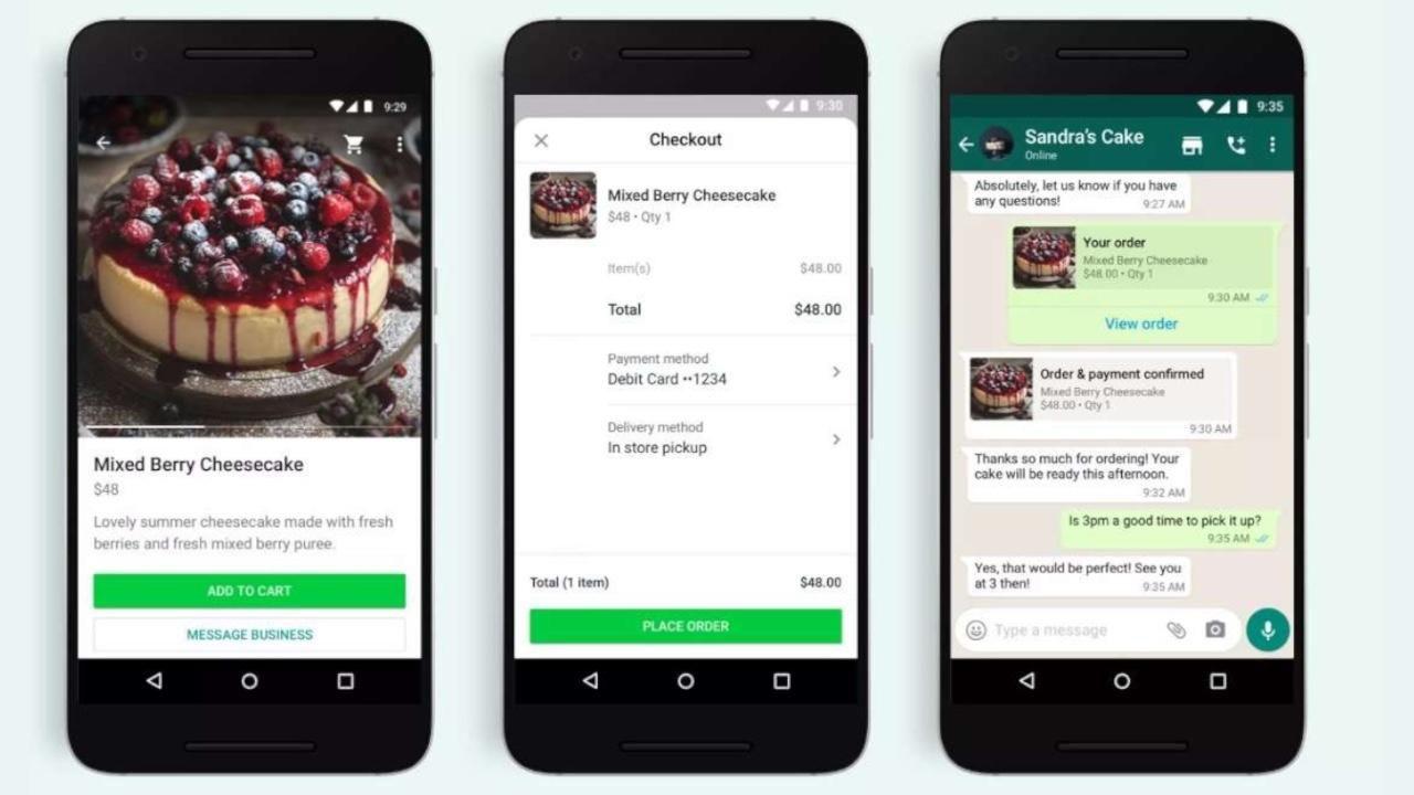 Ecco come fare acquisti su WhatsApp
