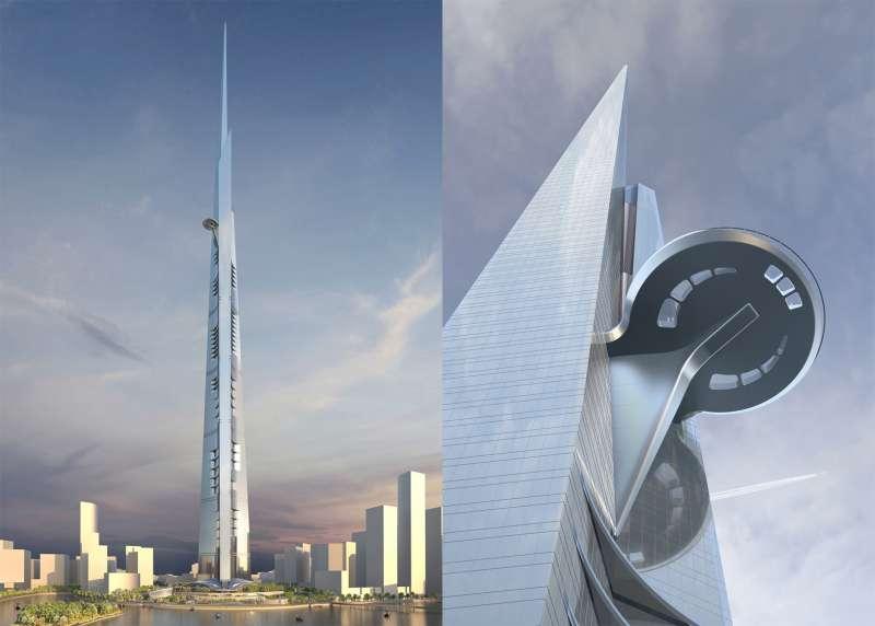 Jeddah Tower sarà il grattacielo più alto del mondo