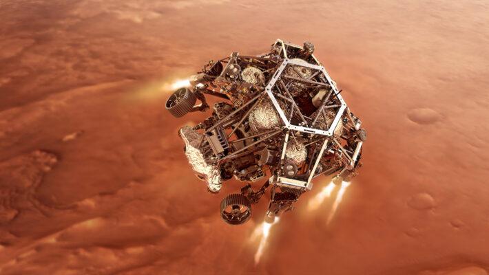 Perseverance Marte