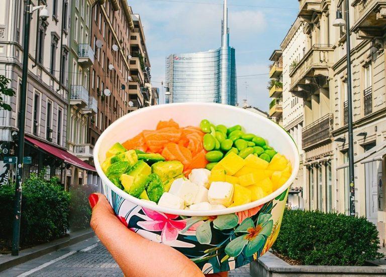 poké bowl milano