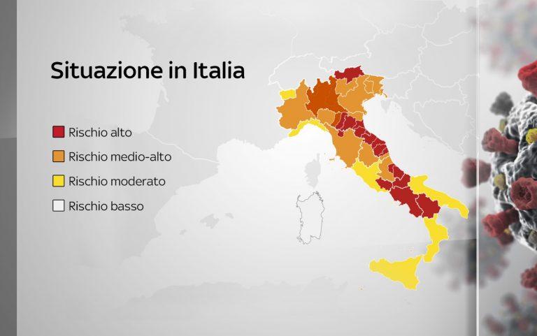 mappa situazione