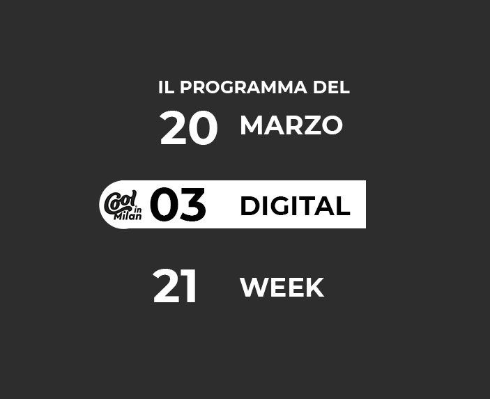 DIGITAL WEEK 20 MARZO