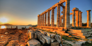 Grecia Covid free Tempio Poseidone