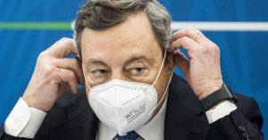 """Draghi: «Priorità vaccino agli over 75, è ora di """"riaprire"""""""