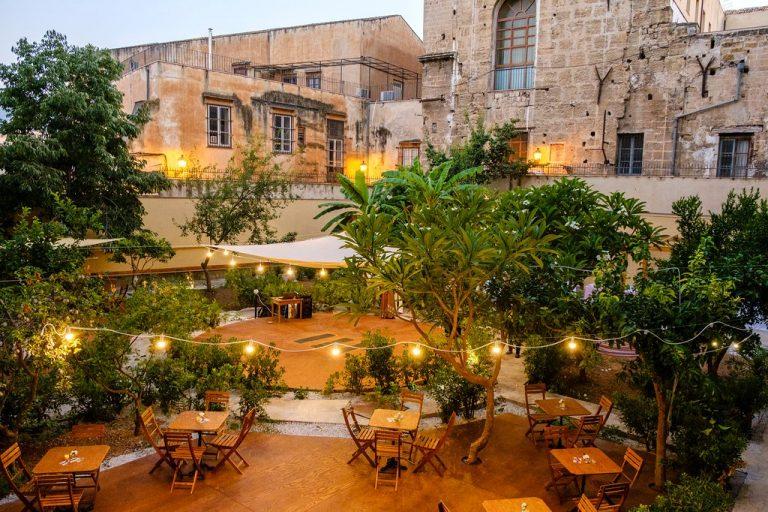 ristorante aperto giardino