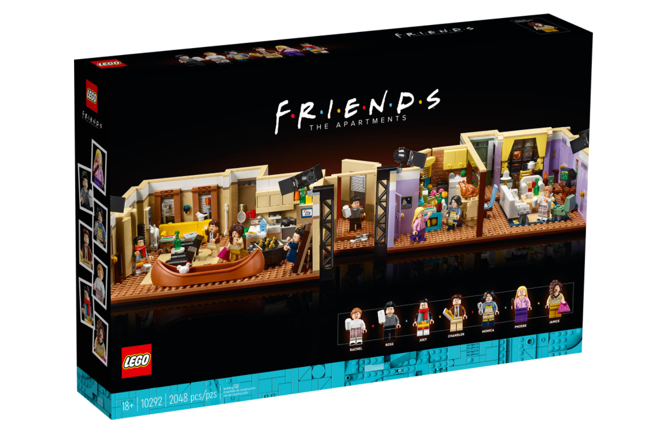 The Apartment Friends LEGO
