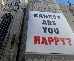cartellone duomo banksy