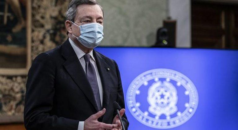 """Draghi: """"E' il momento di prenotare le vacanze in Italia"""""""