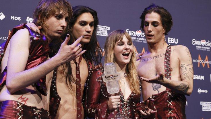 """I Maneskin vincono gli Eurovision e """"dominano"""" la classifica di Spotify"""