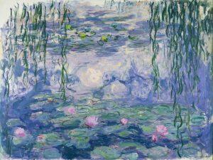 arte milano Monet Mondrian