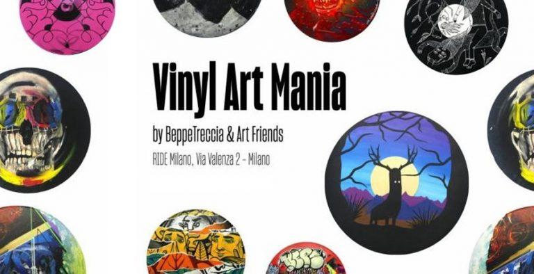 milano mostra vinili Vinyl Art Mania