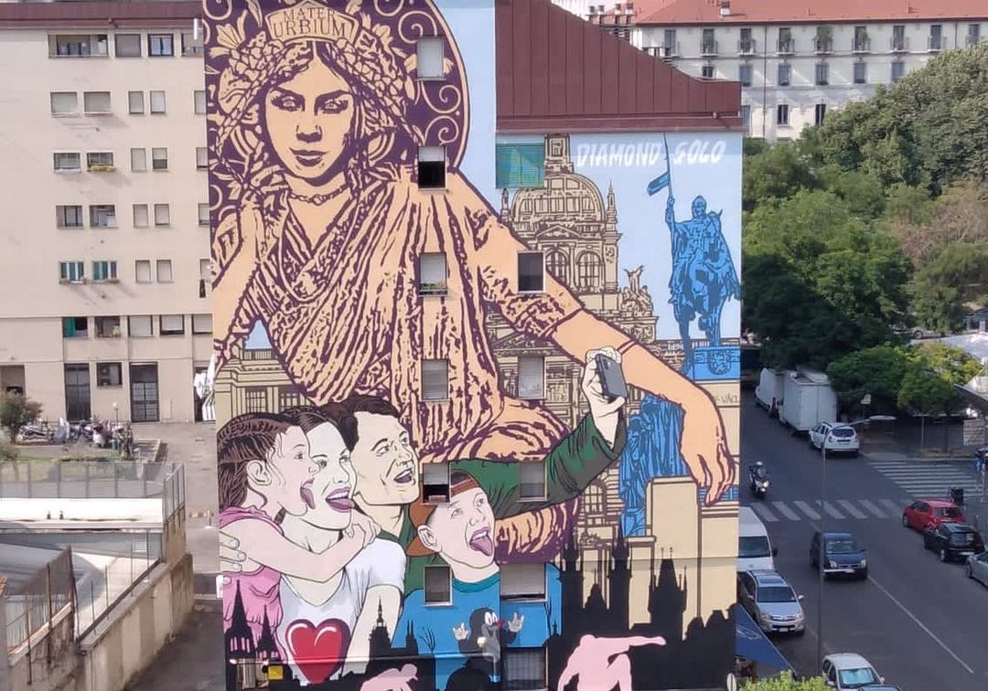 milano nuovo murales