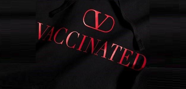 valentino felpa vaccinated