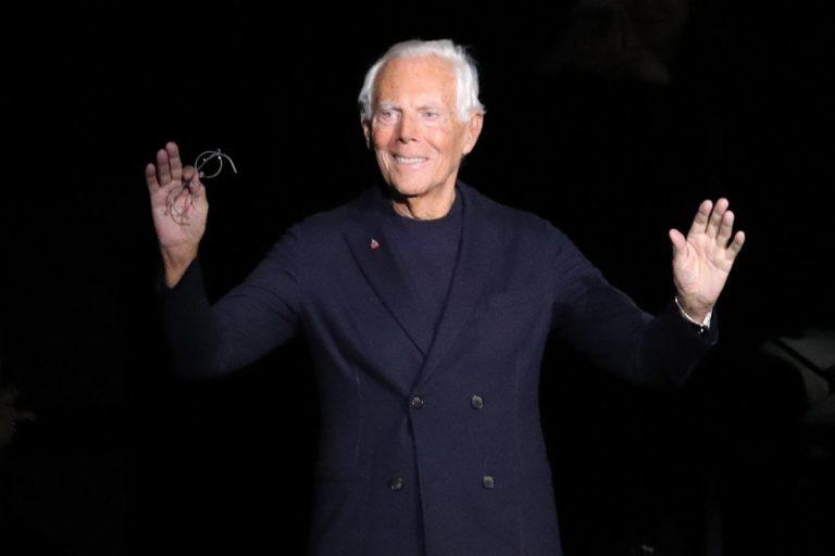 Giorgio Armani celebra i 40 anni di Emporio Armani