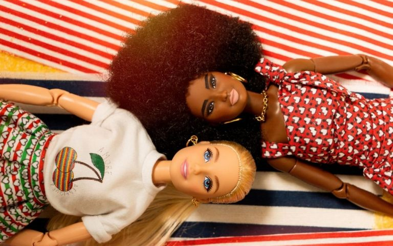 milano fashion week barbie