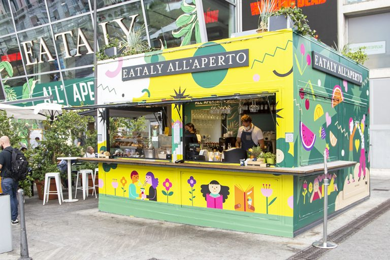 Venerdì 3 settembre Eataly inaugura la sua Milano Design Week