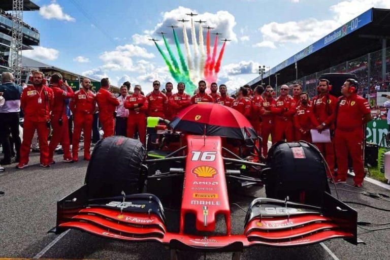 Dal 10 al 12 settembre 2021ritorna Gran Premio d'Italia di F1 a Monza