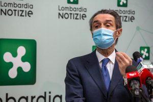 """Vaccini Lombardia, Fontana: """"Oggi 80% vaccinati, è immunità di gregge"""""""