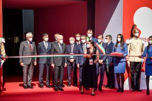 Il Presidente della Repubblica Mattarella inaugura il Salone del Mobile