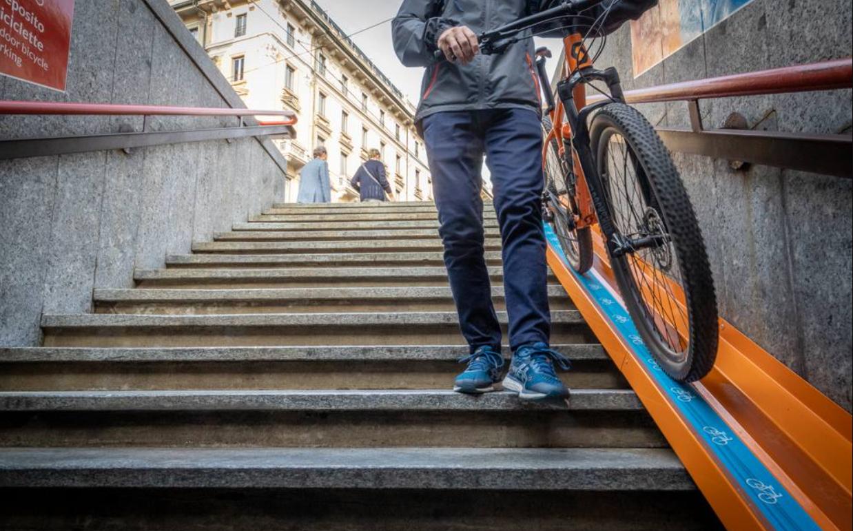 milano parcheggio per bici metro