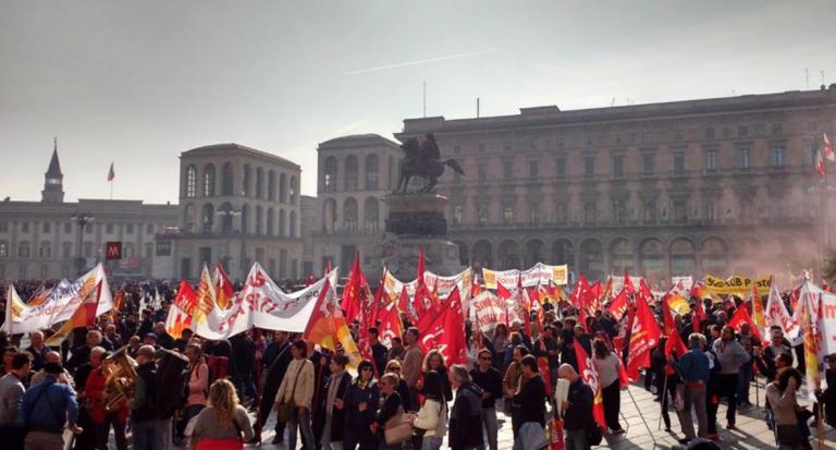 milano sciopero generale