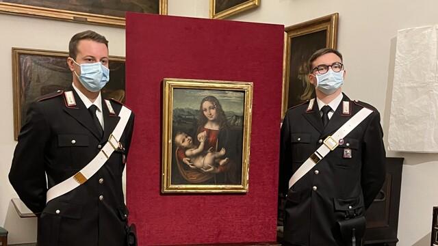 quadro rubato pinacoteca